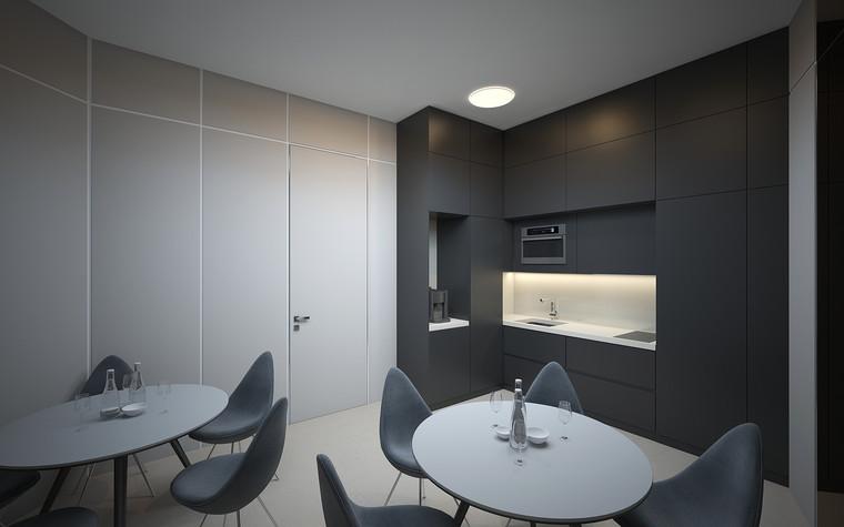 Дизайн офиса. офисы из проекта Офис в Москва-Сити, фото №95848