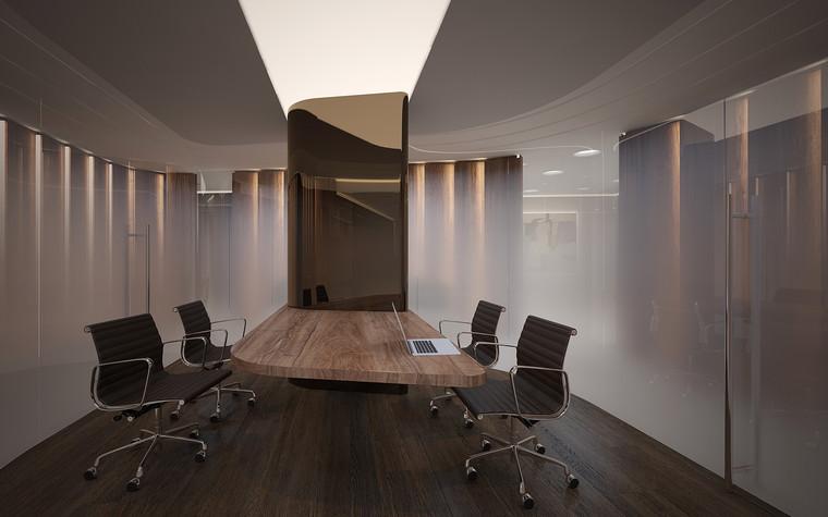Дизайн офиса. офисы из проекта Офис в Москва-Сити, фото №95810