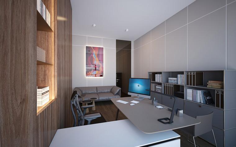 Дизайн офиса. офисы из проекта Офис в Москва-Сити, фото №95853