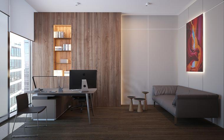 Дизайн офиса. офисы из проекта Офис в Москва-Сити, фото №95855