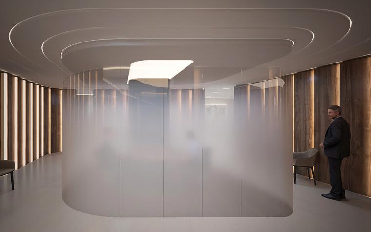Дизайн офиса. офисы из проекта Офис в Москва-Сити, фото №95812