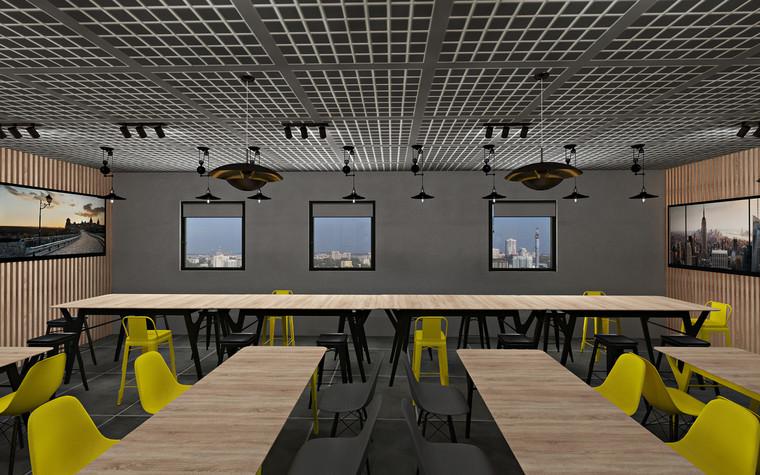 Дизайн офиса. Кафе из проекта Кафе для сотрудников международной DIY-компании, фото №96169