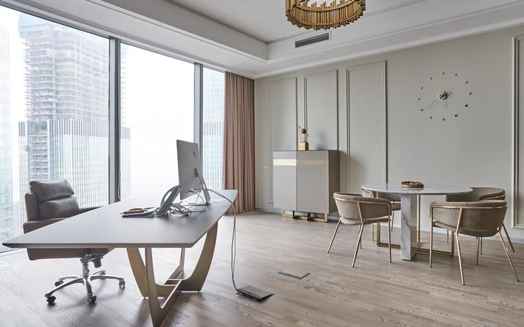 Дизайн офиса. офисы из проекта Офис в башне Федерация, фото №96893