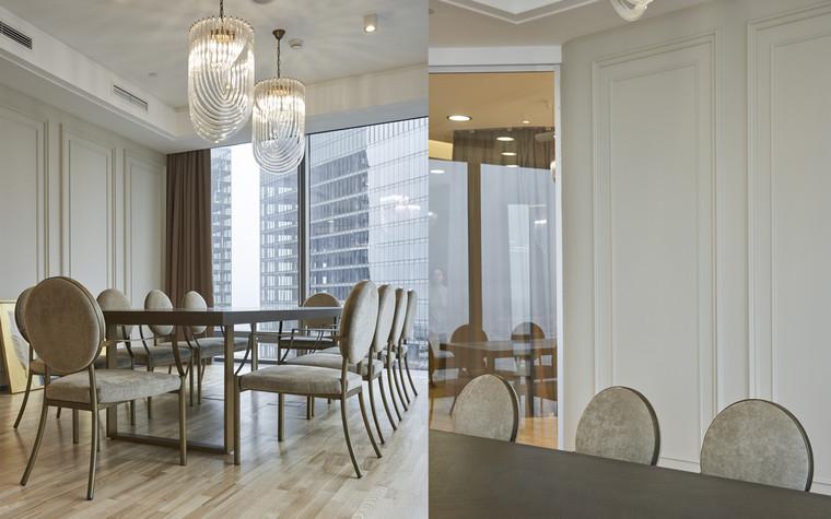 Дизайн офиса. офисы из проекта Офис в башне Федерация, фото №96904