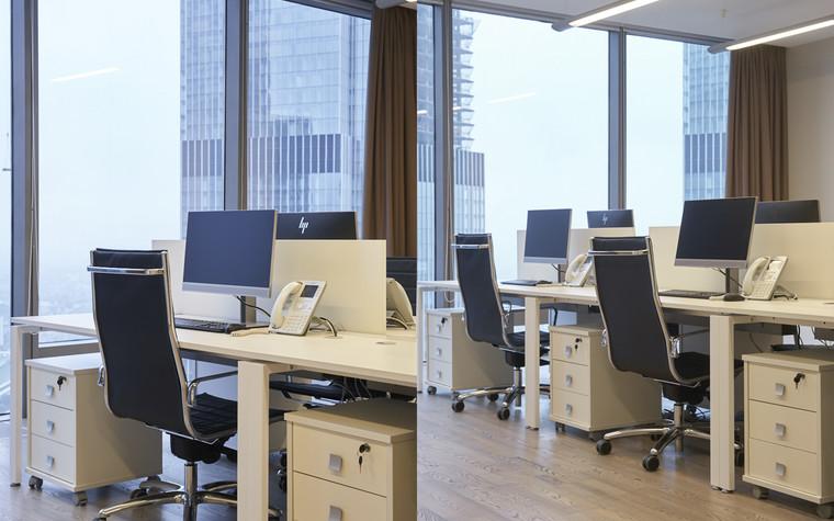 Дизайн офиса. офисы из проекта Офис в башне Федерация, фото №96906