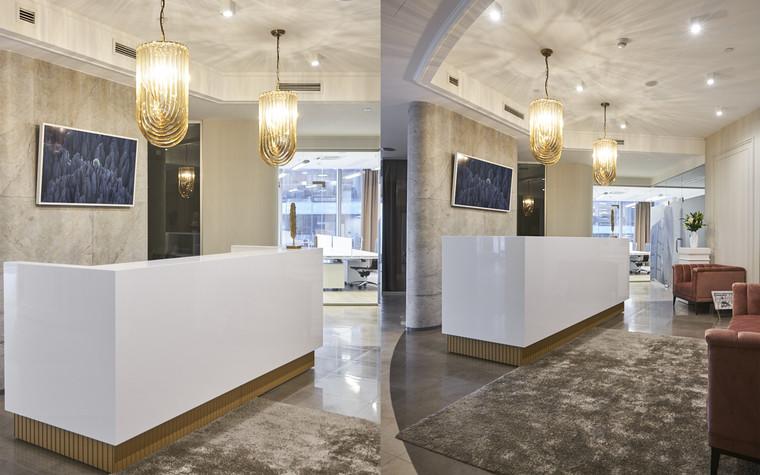 Дизайн офиса. офисы из проекта Офис в башне Федерация, фото №96900