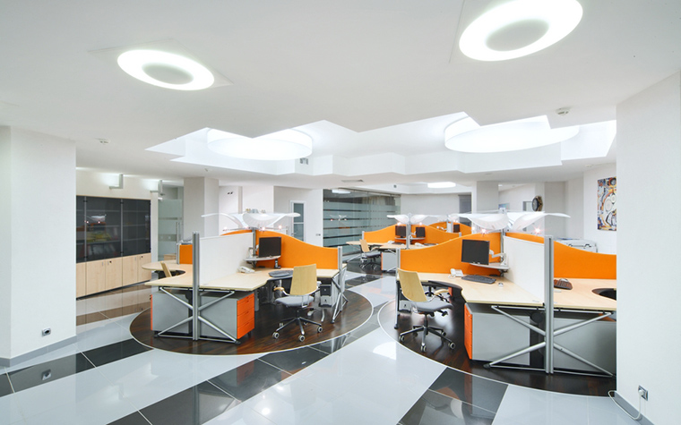 Дизайн офиса. офисы из проекта , фото №8201