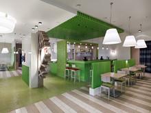 дизайн ресторана, кафе, бара Архитектурная студия Соколовых Анна