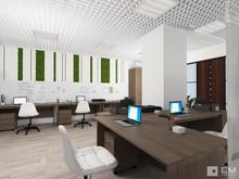 Функциональный и светлый дизайн офиса с видом на город, фото № 7532, GM-Interior GM-interior