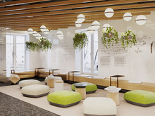 Дизайн офиса «Дизайн офиса IT-компании. Duplex Apartment», офисы . Фото № 27648, автор Duplex Apartment  Интерьерные решения