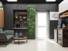Дизайн офиса «Офис в стиле лофт», офисы . Фото № 28065, автор Баучкина Марина