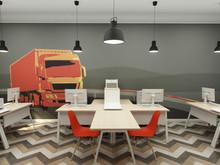 Дизайн офиса «Офис логистической компании», офисы . Фото № 28490, автор Комаров Михаил