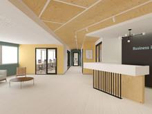 Дизайн офиса «Бизнес-инкубатор», офисы . Фото № 28651, автор Смольский Артемий