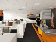 Дизайн офиса «офис компании DURACELL», офисы . Фото № 28975, автор CEOffice