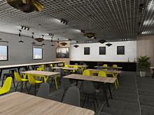 Дизайн офиса «Кафе для сотрудников международной DIY-компании», Кафе . Фото № 30010, автор Тарасова Анастасия