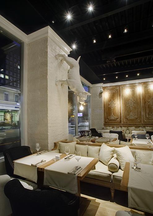 Ресторан. ресторан из проекта , фото №11707