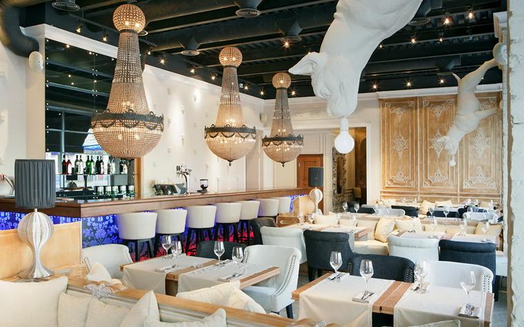 Ресторан. ресторан из проекта , фото №11710
