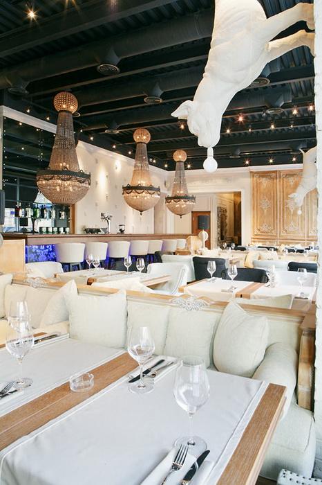 Ресторан. ресторан из проекта , фото №11711