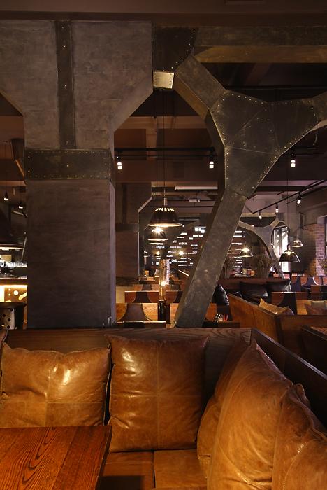 Ресторан. ресторан из проекта , фото №13567