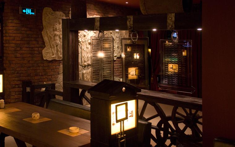 Ресторан. ресторан из проекта , фото №14848