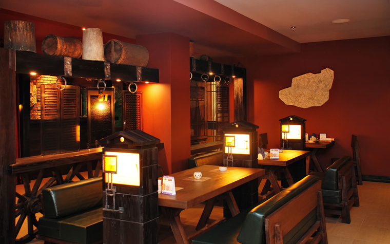 Ресторан. ресторан из проекта , фото №14839