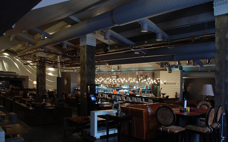 Ресторан. ресторан из проекта , фото №16754