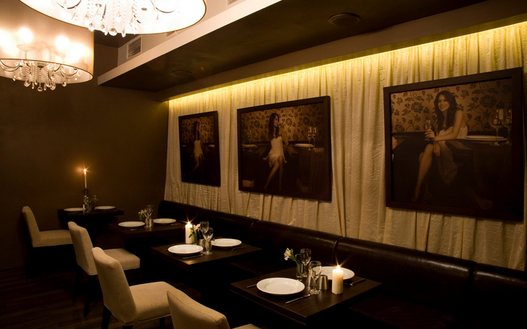 Ресторан. ресторан из проекта , фото №17171