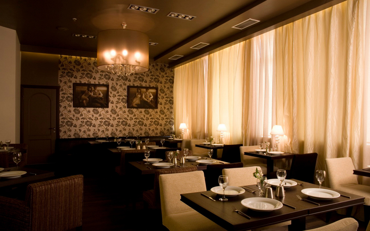 Ресторан. ресторан из проекта , фото №17156