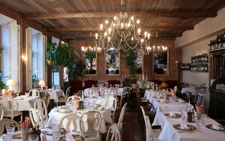Ресторан. ресторан из проекта , фото №19041