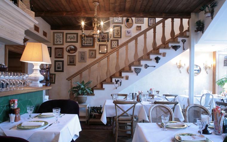 Ресторан. ресторан из проекта , фото №19051