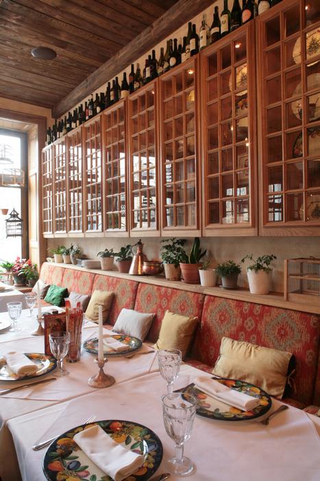 Ресторан. ресторан из проекта , фото №19054
