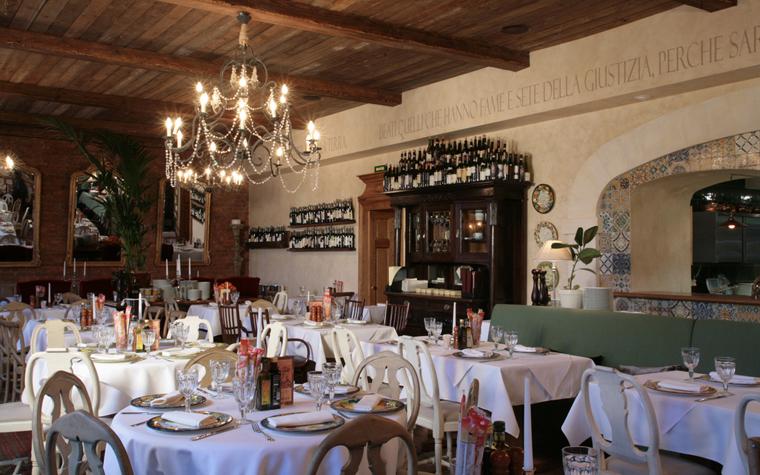 Ресторан. ресторан из проекта , фото №19045