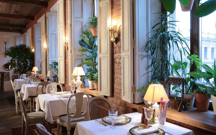Ресторан. ресторан из проекта , фото №19046