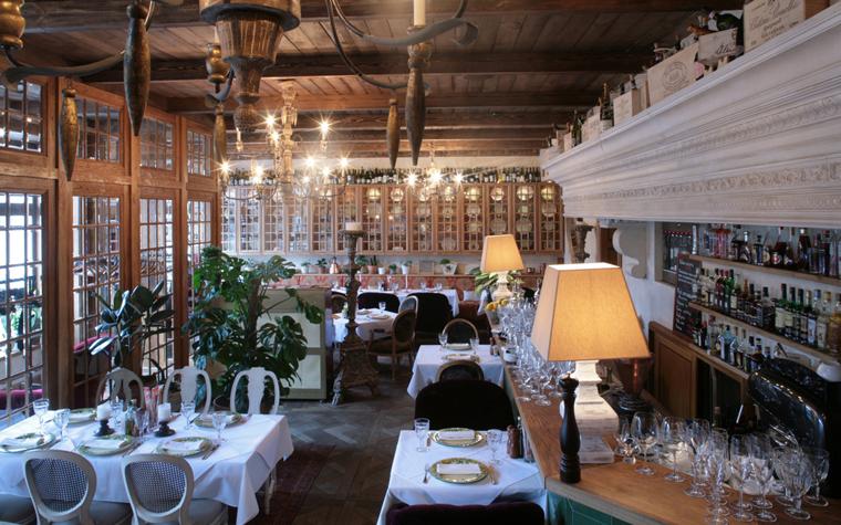 Ресторан. ресторан из проекта , фото №19048