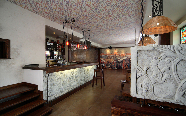Ресторан. ресторан из проекта , фото №20295