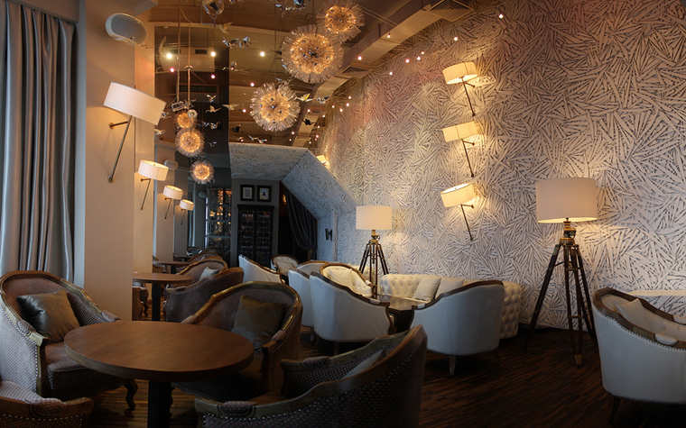 Ресторан. ресторан из проекта , фото №20367