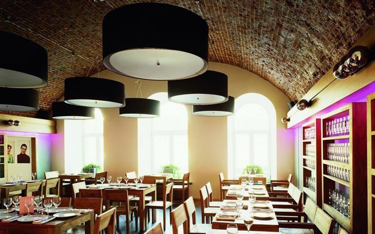 Ресторан. ресторан из проекта , фото №21078