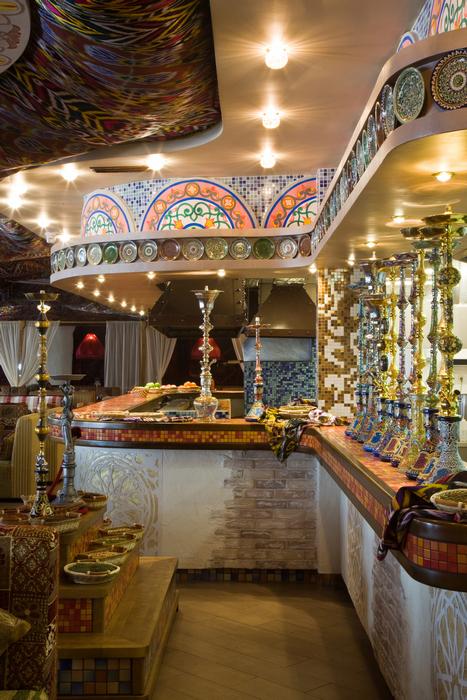 Ресторан. ресторан из проекта , фото №23366