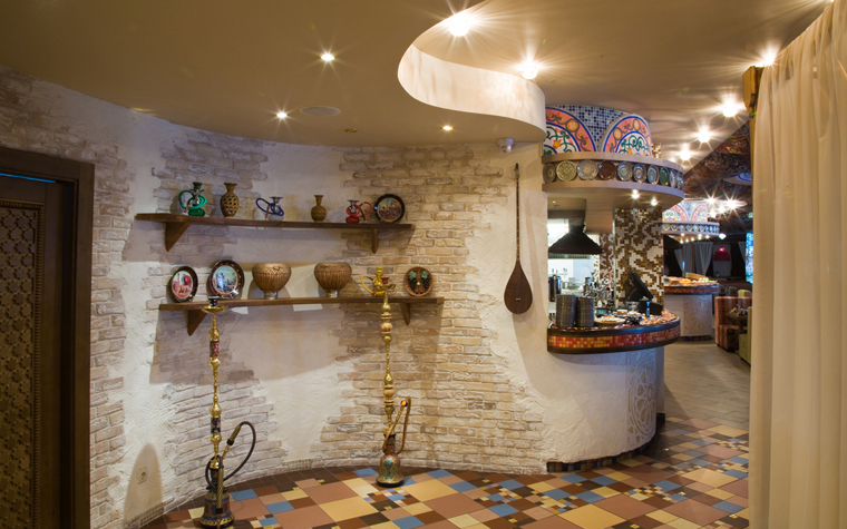 Ресторан. ресторан из проекта , фото №23372