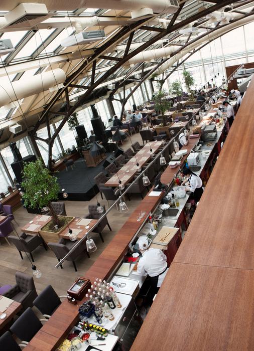 Ресторан. ресторан из проекта , фото №23657