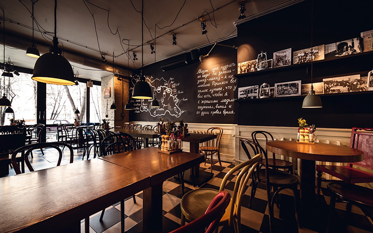 Ресторан. ресторан из проекта , фото №42584
