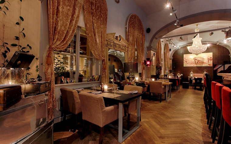 Ресторан. ресторан из проекта , фото №42619