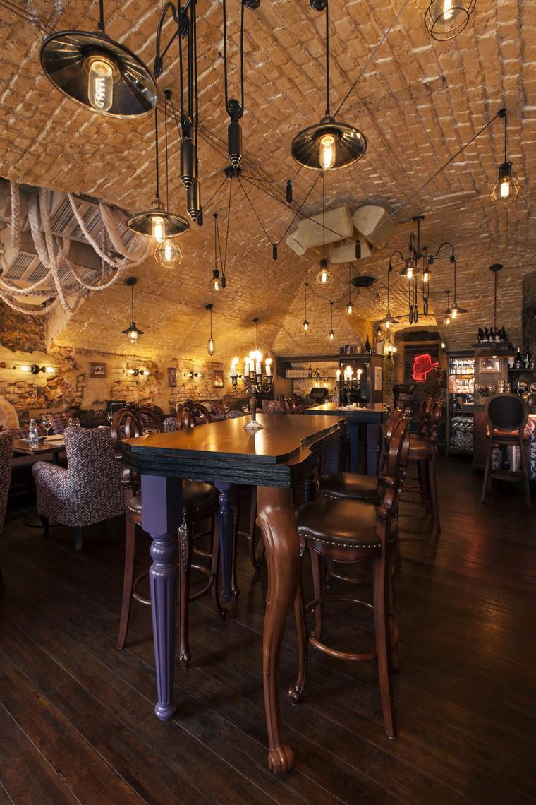 Ресторан. ресторан из проекта , фото №55936