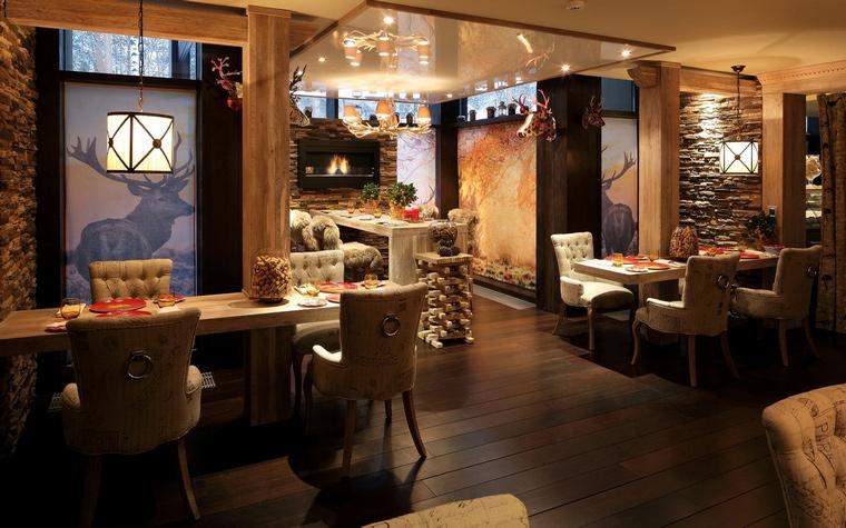 Ресторан. ресторан из проекта , фото №61082