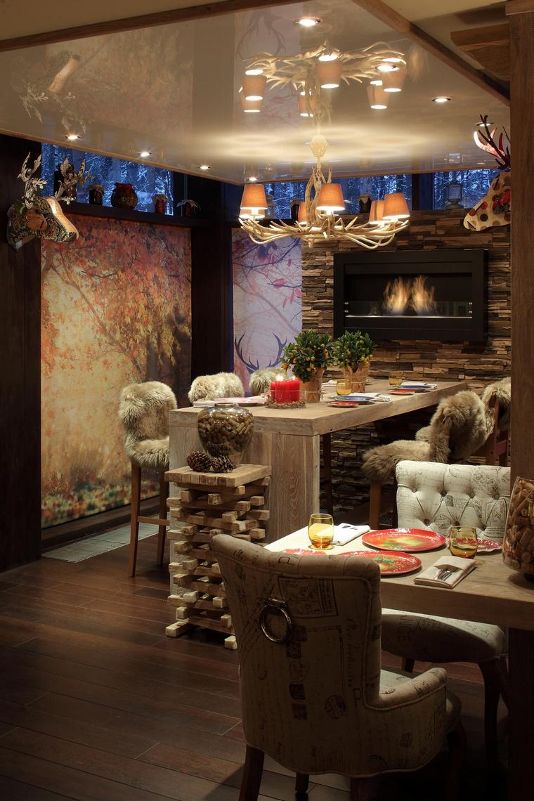 Ресторан. ресторан из проекта , фото №61085
