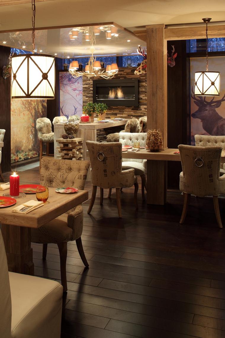 Ресторан. ресторан из проекта , фото №61086
