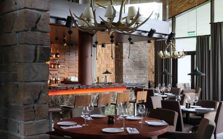 Ресторан. ресторан из проекта , фото №61534