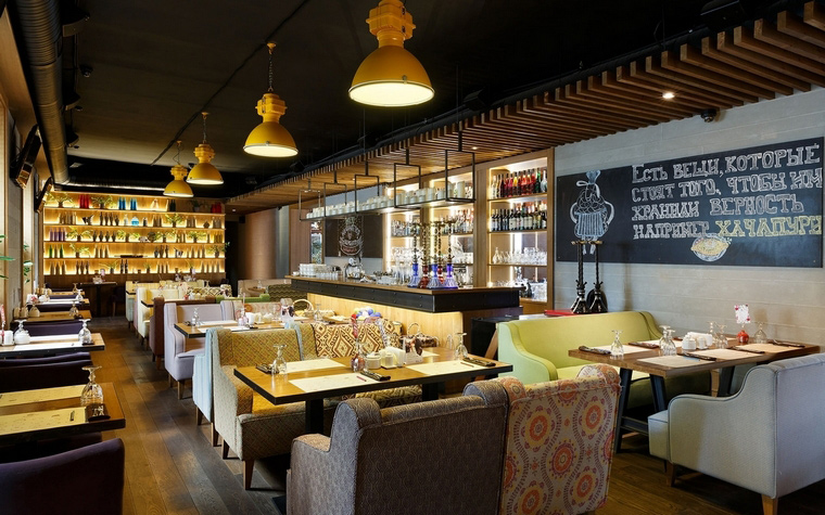 Ресторан. ресторан из проекта , фото №63862