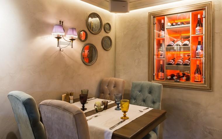 Ресторан. ресторан из проекта Ресторан грузинской кухни в центре города Санкт-Петербурга, фото №78536