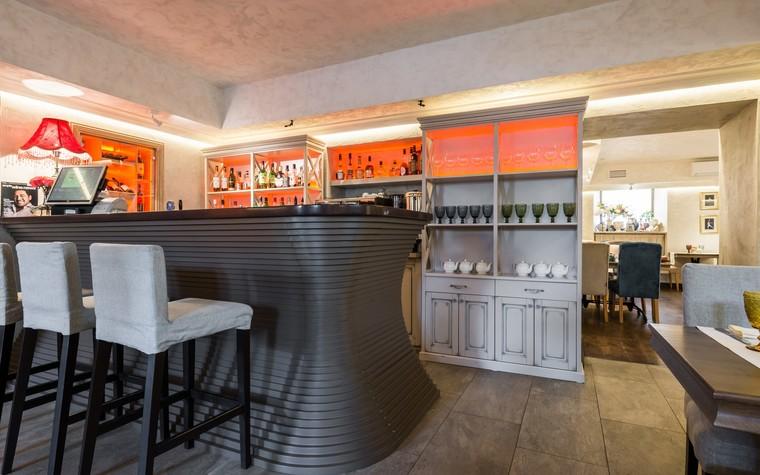 Ресторан. ресторан из проекта Ресторан грузинской кухни в центре города Санкт-Петербурга, фото №78537
